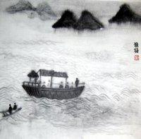 晚游六桥待月记(词意图) - leebapa - leebapa的博客