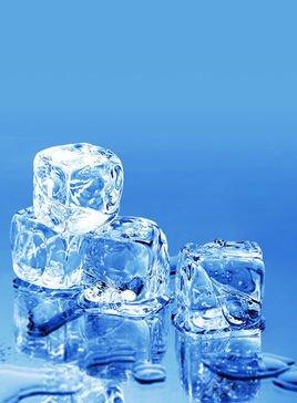 桶装冰块gif