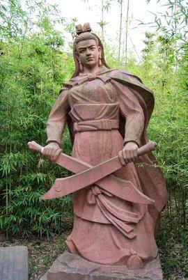 荆州张飞雕像规划图