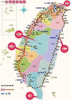 九江等城市的交通旅游图;针对社会上兴起的休闲度假旅游,推出海南岛