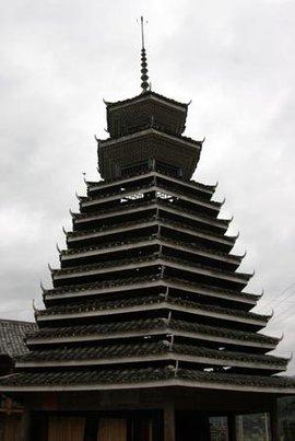 贵州木结构建筑