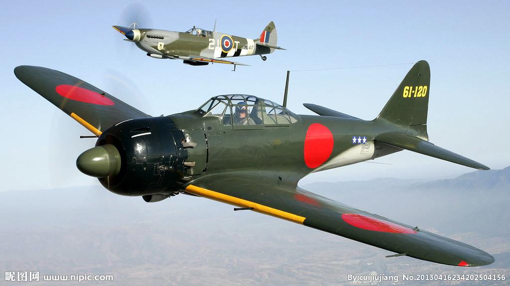 """提及""""短翼展零式战斗机""""在高速下滚转性能较先前型号"""