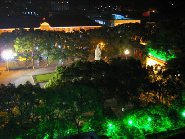 湖南大学校园风景
