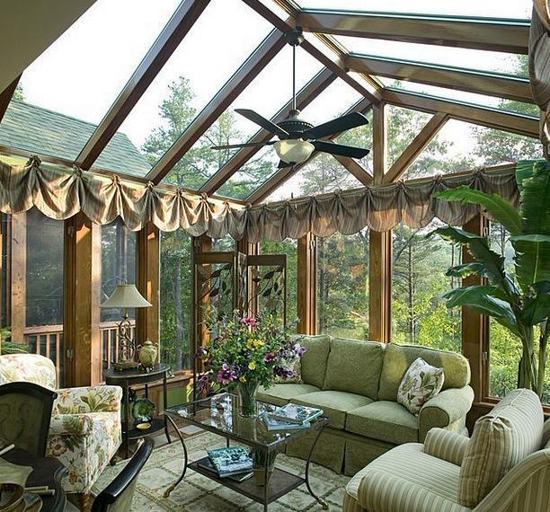 那么就确定一个它最主要的功能,然后进行设计花园阳光房.