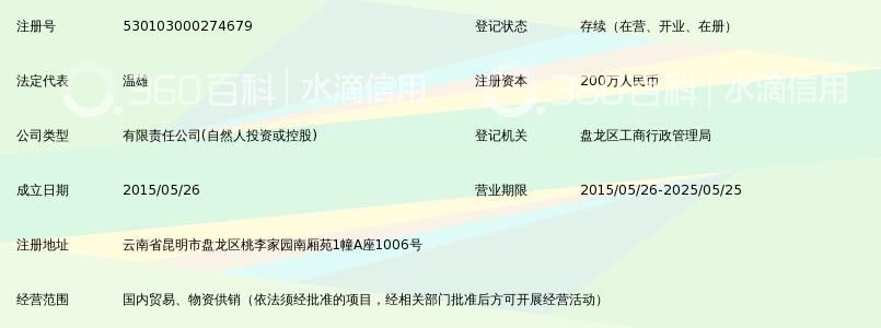 云南洲默商贸有限公司_360百科