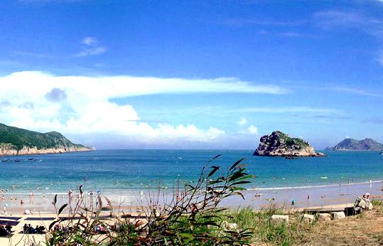 位于浙江省平阳县东南海域.由南麂列岛海洋自然保护区管理局管理.