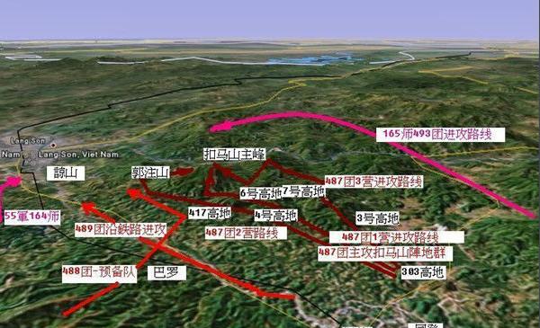 中越边境贸易批发市场在越南谅山省谅山市的东京市场,地图参考如下:东