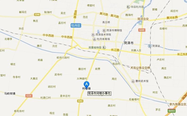 大郭庄街道地图