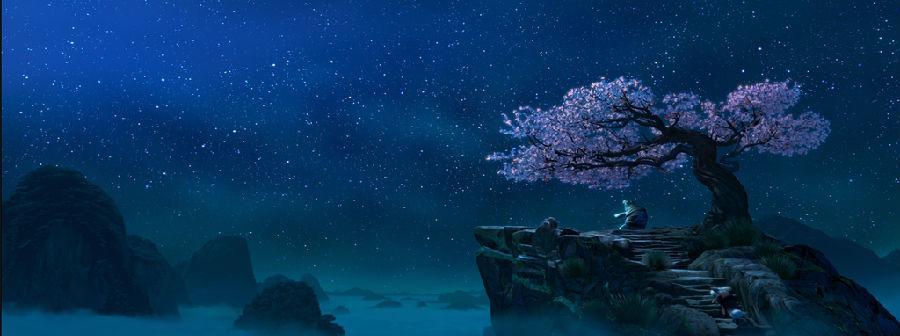 《功夫熊猫》功夫以外, 《功夫熊猫》的故事以中国为背景,由景观