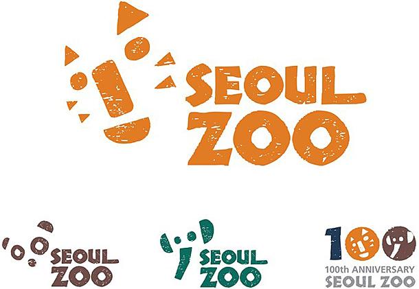 首尔动物园(seoul zoo)的视觉形象设计,系列标志由不同的动物和seoul