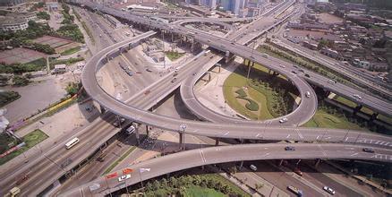 中国国家高速公路网环线和支线高速公路在辽宁,浙江,广东,海南和川渝