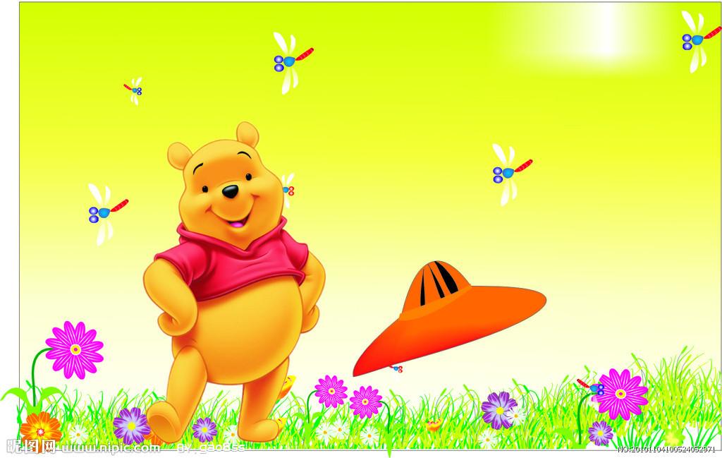 小熊在森林简笔画