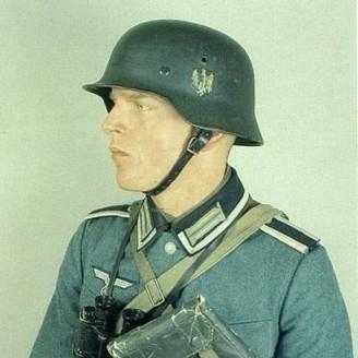 德国钢盔-都说二战德军军服