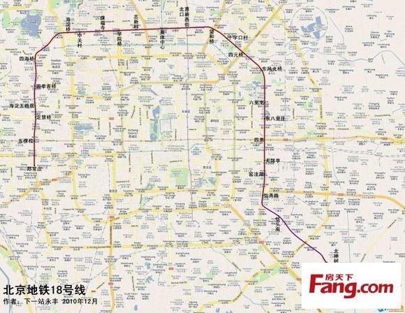 北京地铁7号线西延 北京地铁6号线西延图 北京地铁3号线西延 北京地图片