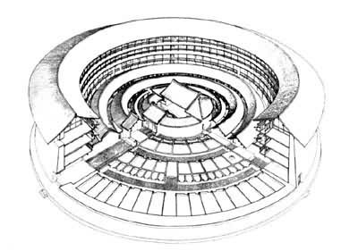 由无模夯土发展到版筑,是夯土结构的一个演变过程,不仅节约了工程量