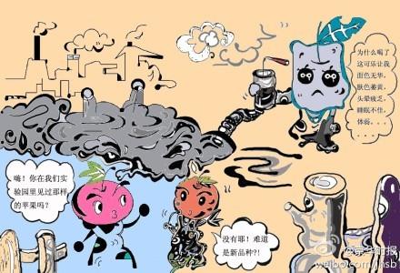 手机电路板污染