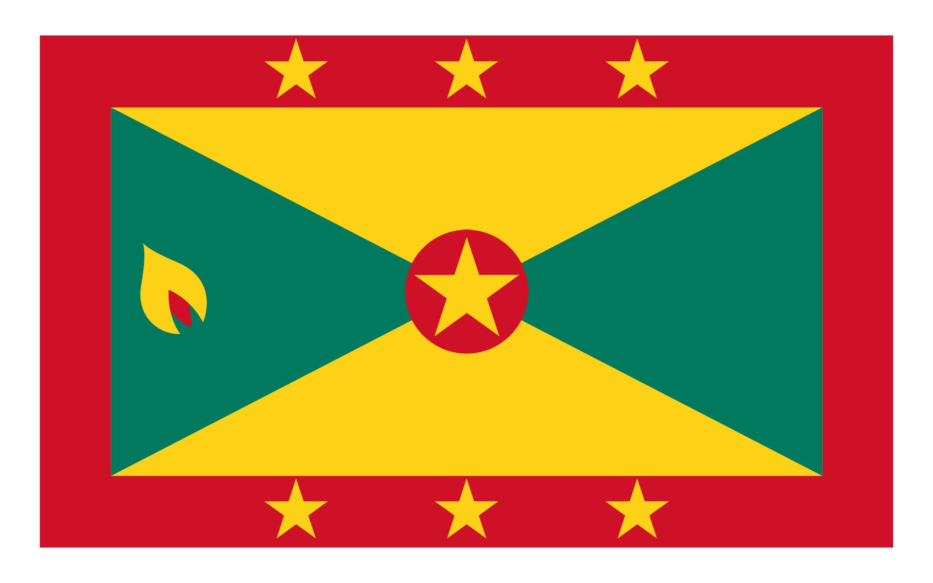 尼日利亚国旗矢量图