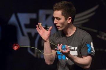 国内最高水平的yoyo球表演