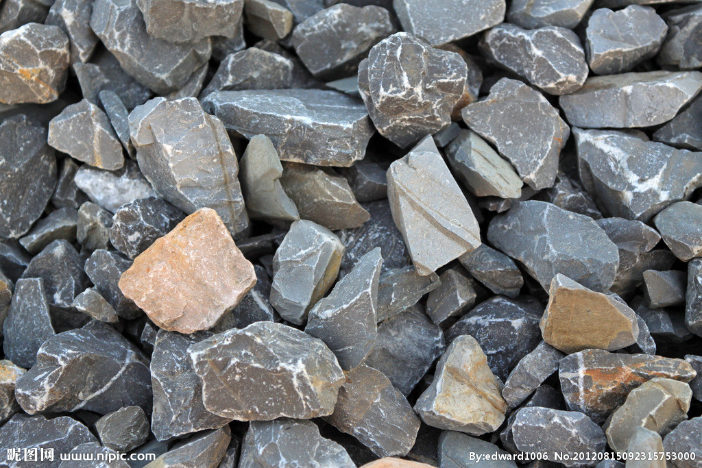 石头展示柜ps素材