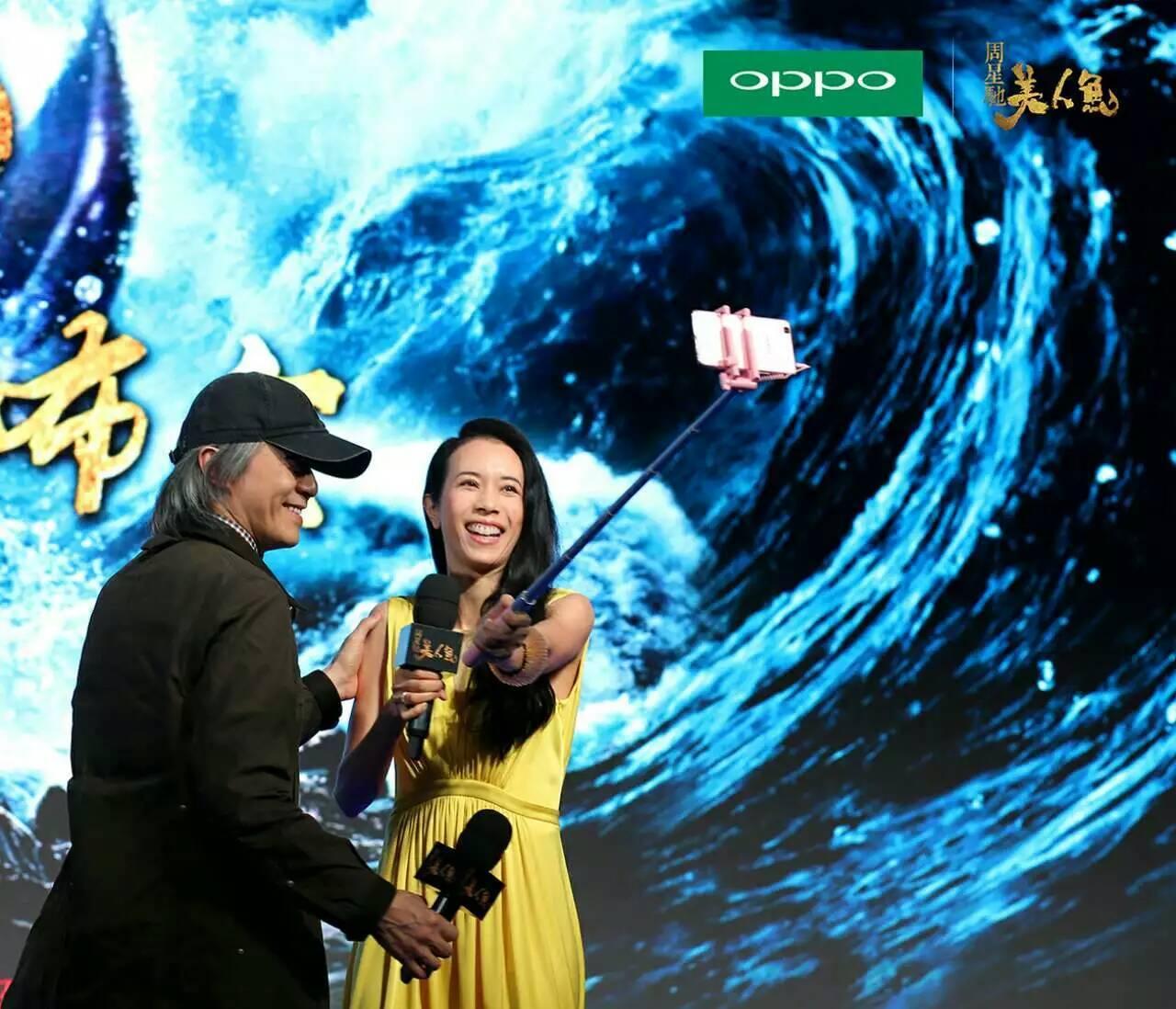 """《美人鱼》曝光的首款预告片中,主演邓超慌张到警局报案""""被美人鱼图片"""